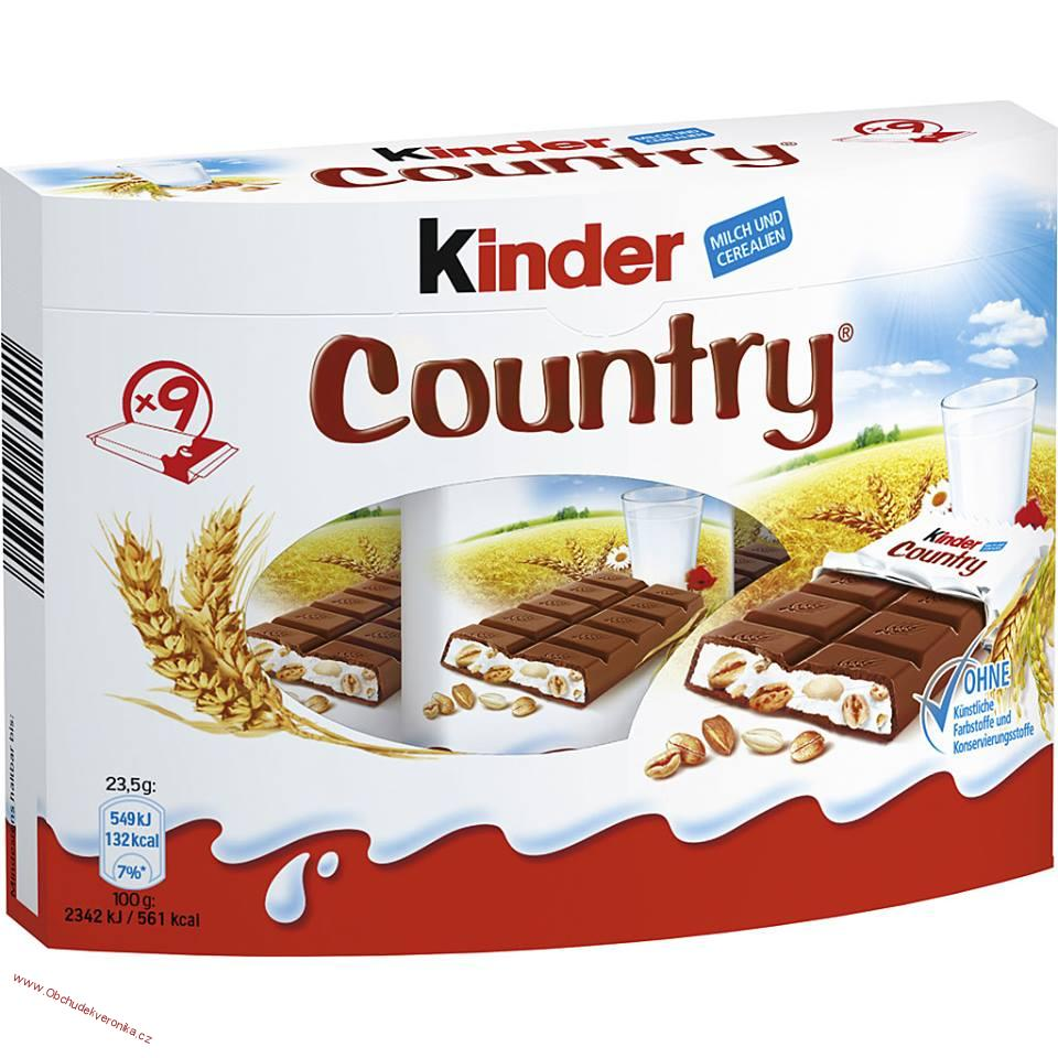 Kinder country 211,5g