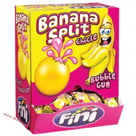 Fini Banana Split Bubble gum 5g x 200ks