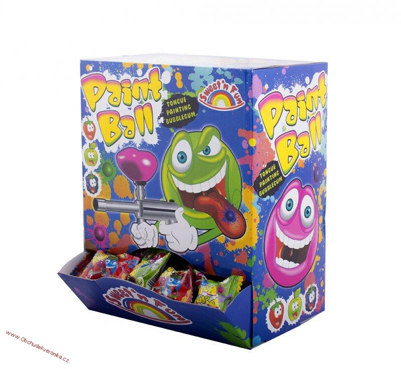 Paint Ball Bubble gum 5g x 200ks
