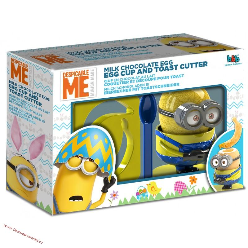 Despicable Me Egg Cup and Toast Cutter 20g