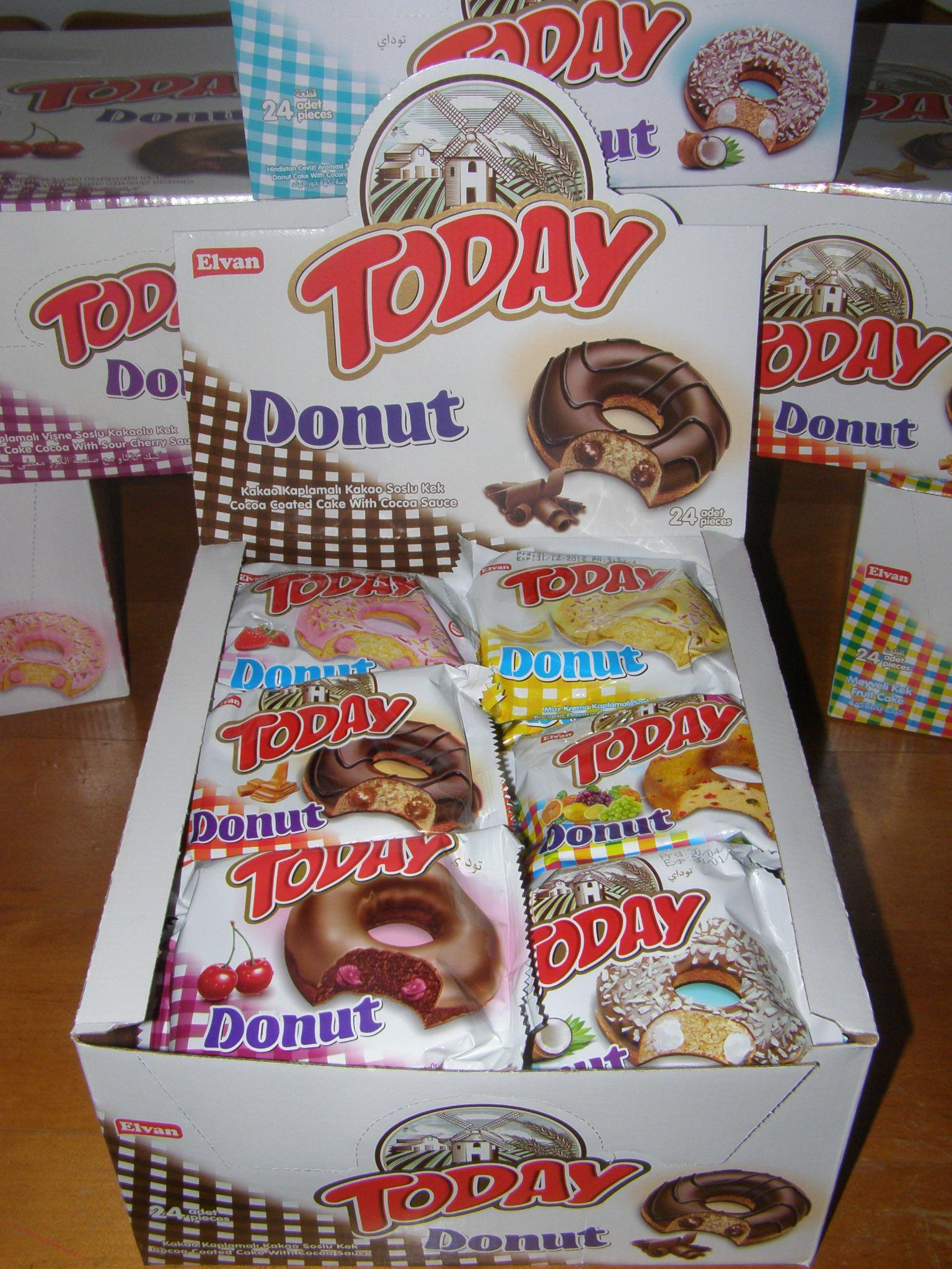 TODAY DONUT MIX (50g) x 24 ks