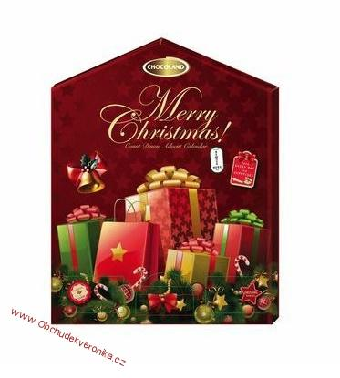 Advent Calendar Count Down Merry Christmas 155 g