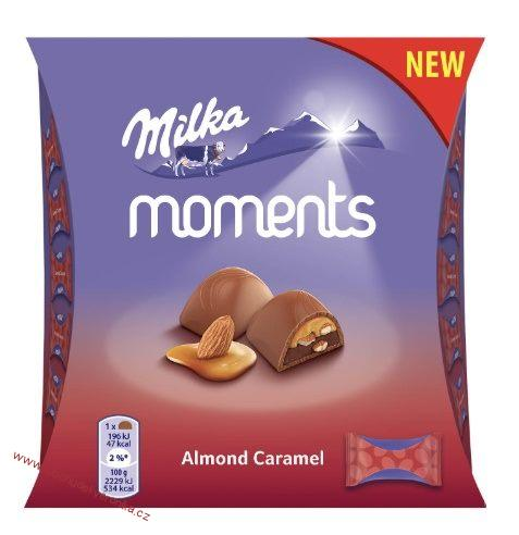Milka Moments Mini Almond 96g