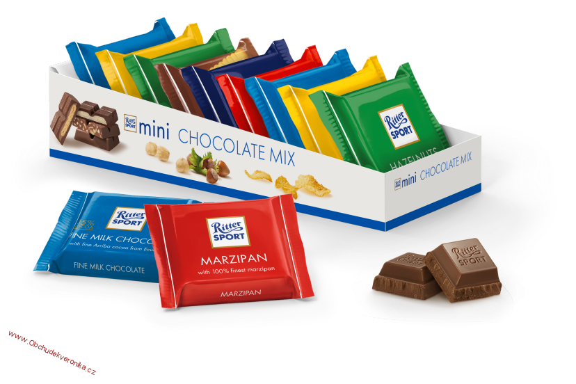 Ritter Sport mini bunter mix 150g