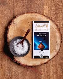 Lindt Excellence Sea Salt 100g