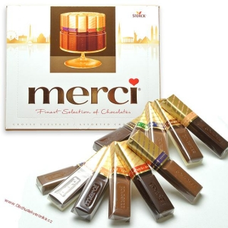 Merci mix Gold 400g