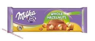 Milka Whole Hazelnuts 270g