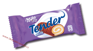 Milka Tender MILK 37g x 3ks