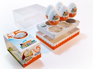 Ferrero Kinder Surprise AirBus 5x 20 g