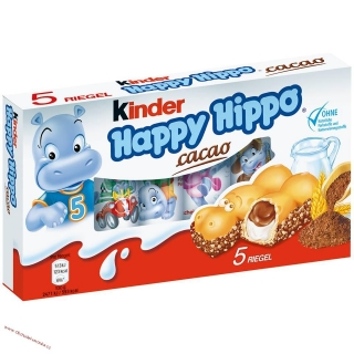 Kinder Happy Hippo 5.ks x 20,7g
