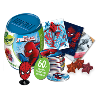 Spiderman Surprise Capsule 6g