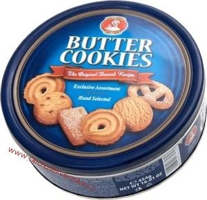 Patisserie Matheo Butter Cookies 454 g