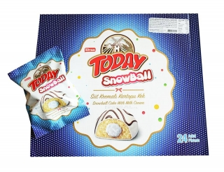 Today Snowball - milk 50g x 4ks