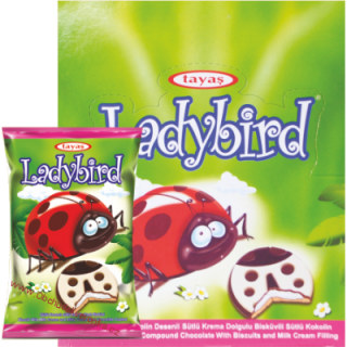 Ladybird Coated Biscuit 25g