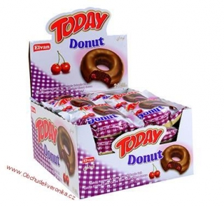 TODAY DONUT VIŠEŇ (50g) x 24 ks