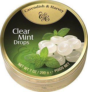 Cavendish & Harvey Clear Mint Drops 200 g