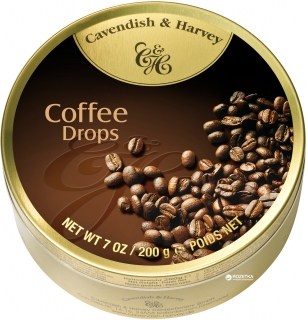 Cavendish & Harvey Coffe Drops 200 g