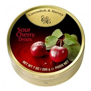 Cavendish & Harvey Sour Cherry Drops 200 g