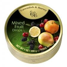 Cavendish & Harvey Mixed Fruit Drops 200 g