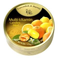 Cavendish & Harvey Multi-Vitamin Candies 175 g
