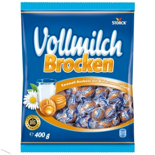 Volmilch brocken -  karamely 400g