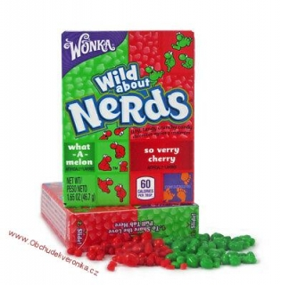 NERDS WHAT-A-MELON & SO VERRY CHERY 46.7G
