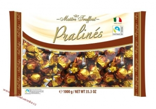 Maitre Truffout Pralines milk chocolate with cappuccino filling 1kg