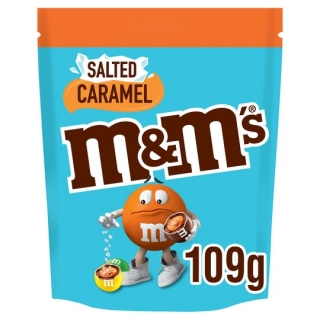 M&M's Salted Caramel Pouch 109G
