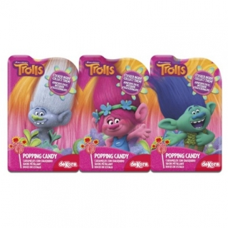 Trolls Popping Candy 3x18g