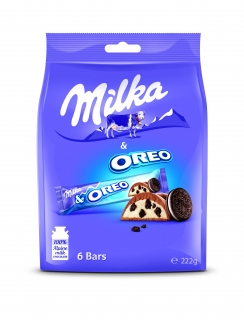 Milka Mini Oreo Bag 222g