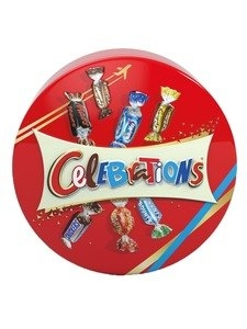 Celebrations Candy Tin 165g