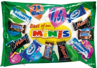 Mars Mixed Minis Bag 500g