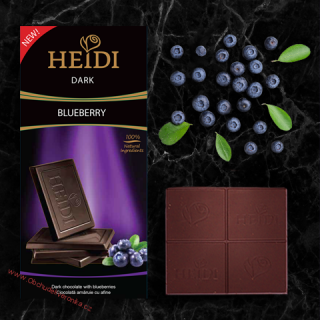 Heidi Dark Himalayan blueberry 80g