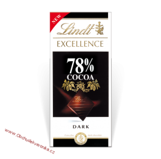 Lindt Excellence 78% kakaa 100g