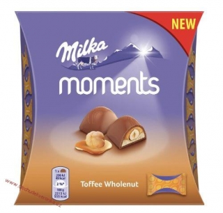 Milka Moments Mini Toffee Wnut 97g