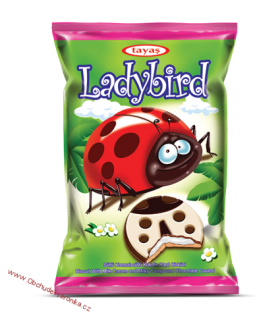 Ladybird Coated Biscuit 25g x 4ks