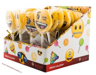 Emoji Lollipops 30g
