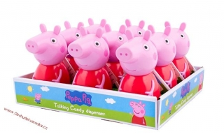 Peppa Pig Talking Candy Dispenser 12g