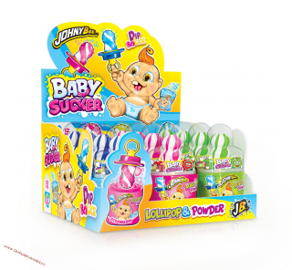 Johny Bee Baby Sucker Lollipop & Powder 32g x 12ks