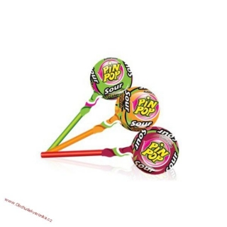 Pin pop mix sour 18g x 10ks