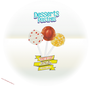 Pin Pop Yoguetta Desserts Postres 18g x 10ks