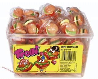 Trolli Mini Burger 10g x 60 ks