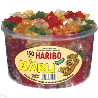Haribo Bärli 150ks box