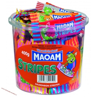 Maoam Mini Stripes 7g x 150 ks