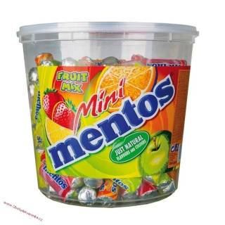 Mentos MINI mix 10,5g dóza 120 ks