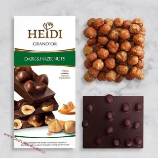 Heidi Grand´Or Dark & Hazelnuts 100g