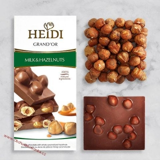Heidi Grand´Or Milk & Hazelnuts 100g