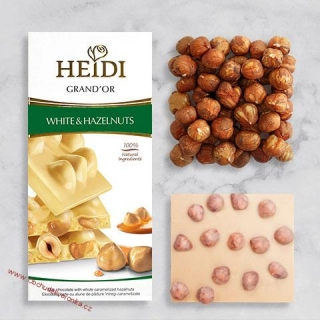 Heidi Grand´Or White & Hazelnuts 100g